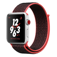Ремешок Santa Barbara Polo & Racquet Club Evelyn Nylon для Apple Watch 42/44мм Красный